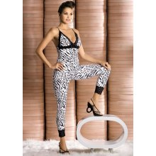 Souprava Zebra top plus pants Obsessive