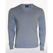 Pánský modrý svetr Gant - Modrá