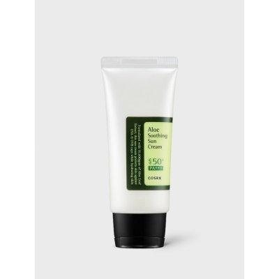 COSRX Aloe Soothing Sun Cream SPF50/PA+++ opalovací krém s výtažky aloe vera 50 ml