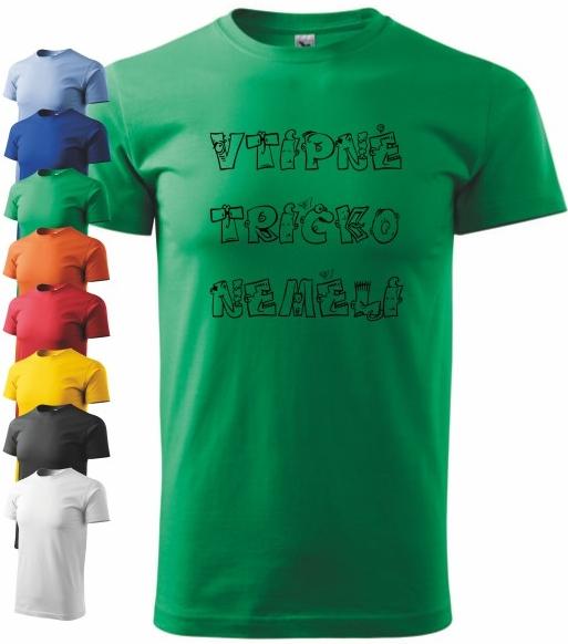 Pánské tričko s potiskem VTIPNÉ NEMĚLI od 270 Kč - Heureka.cz 9c39cc5a40