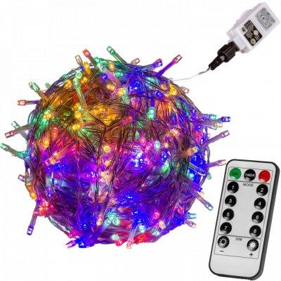 Goleto Vánoční LED osvětlení 20 m barevné 200 LED