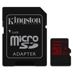 Kingston microSDHC 32GB UHS-I U3 + adaptér SDCA3/32GB