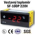 SFYB Vestavný digitální teploměr - SF-100P 220V
