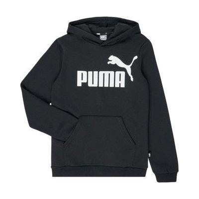 Puma Mikiny Dětské ESSENTIAL HOODY Černá