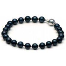 Náramek Klenota z černých perel pe024a