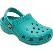63933bce1e9 Crocs Chlapecké sandály Classic Clog - zelené