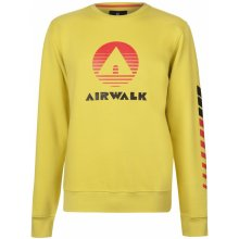 Airwalk Retro Sweater pánská Yellow a868299267