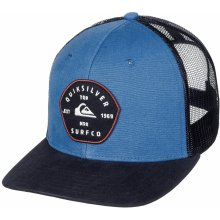 ed4b4b2ca9c Quiksilver Blocked Out Trucker BPC0 Bright Cobalt