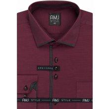 AMJ Style Slim pánská Košile dlouhý rukáv c5e530e0dc