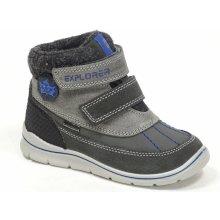 Santé IC 233608 GRIGIO dětská zimní vycházková obuv šedomodrá b5f60cc8b7