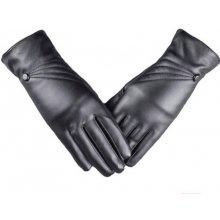 a65ccf0aba1 Zimní rukavice Kožené rukavice černé - Heureka.cz