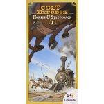 Ludonaute Colt Express: Horses & Stagecoach
