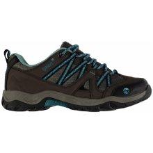 Gelert Ottawa Low dámské Walking Shoes Brown/Teal