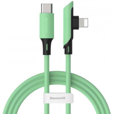 Baseus Colorful side plug kabel USB-C PD / Apple Lightning 1,2m / 18W