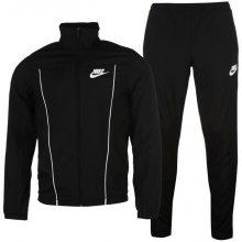 Nike Woven Tracksuit Mens Black/White