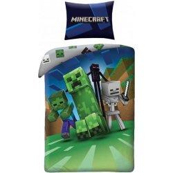 HALANTEX povlečení Minecraft Monsters Bavlna 140x200 70x90