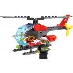 ICOM Blocki Hasičský vrtulník 89 dílů