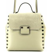 06ae1efdd6 Arteddy dámský kožený batoh a kabelka v jednom krémová
