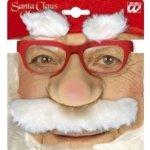 Set Santa/Mikuláš: brýle, nos, knír, obočí