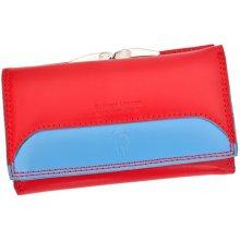 Harvey Miller Polo Club COL8 PL10 dámská kožená peněženka červená