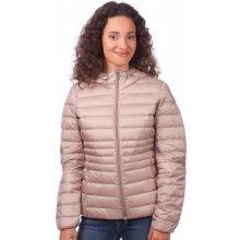 Geox dámská péřová bunda růžová