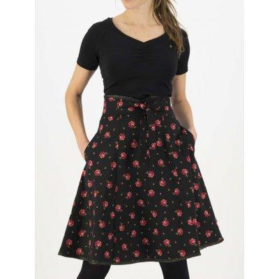 Blutsgeschwister dámská sukně Harvest Moon černá