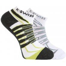 K-Swiss pánské sportovní ponožky - 2 pack 2aa7054441