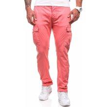 Pánské kalhoty M.SARA 8380 růžové