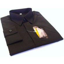 Chlapecká košile dlruk černá
