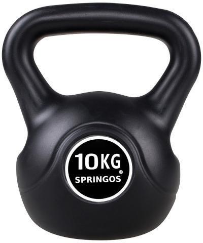 Recenze SPRINGOS ABS Kettlebell 10 kg