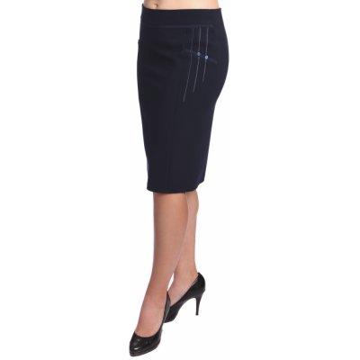 Carla dámská sukně s aplikací tmavomodrá