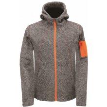 f83b67c15909 2117 of Sweden ASPEBODA pánská fleecová bunda s kapucí tmavě šedá