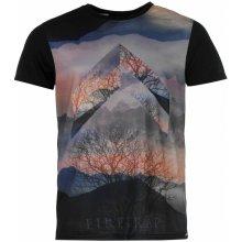 Firetrap Graft Sub T Shirt Mens Black