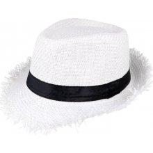 Slaměný klobouk pro léto bílý Betterlook 2596