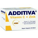 Additiva Vitamin C + Zinek 60 tablet