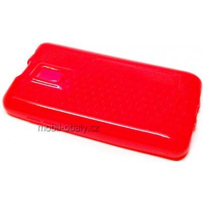 Pouzdro S-line LG OPTIMUS P990 2X červené