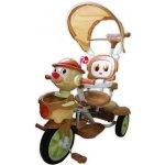 Baby Mix Dětská tříkolka klaun coffee