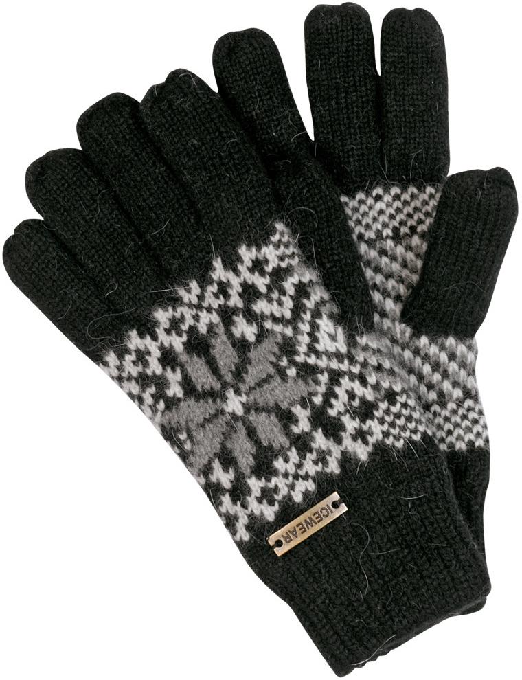 c2920ef3b2d NORwear angora pletené prstové rukavice černé od 599 Kč - Heureka.cz