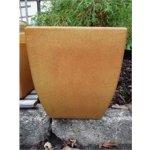 Keramika Litohoř Venkovní květináč Lyra hnědý 2840 - 29 x 29 x 33