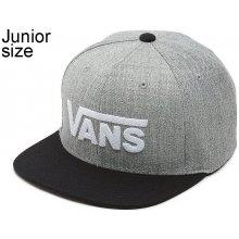 e10befdf95e Vans Drop V II Snapback Youth Heather dětská kšiltovka Gray Black
