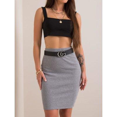 Dámská sukně úpletová rv-sd-4271.29p gray