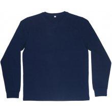 Tričko s dlouhými rukávy Superstar Tmavě modrá