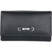 velmi příjemná kvalitní kožená HMT peněženka černá