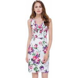 ec1151becf63 Dámské šaty Krátké letní společenské šaty na svatbu bílá
