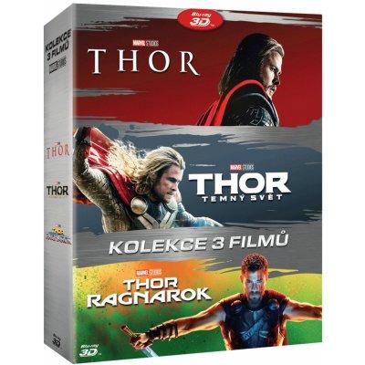 Thor kolekce 1-3 (6Blu-ray 2D+3D): Blu-ray