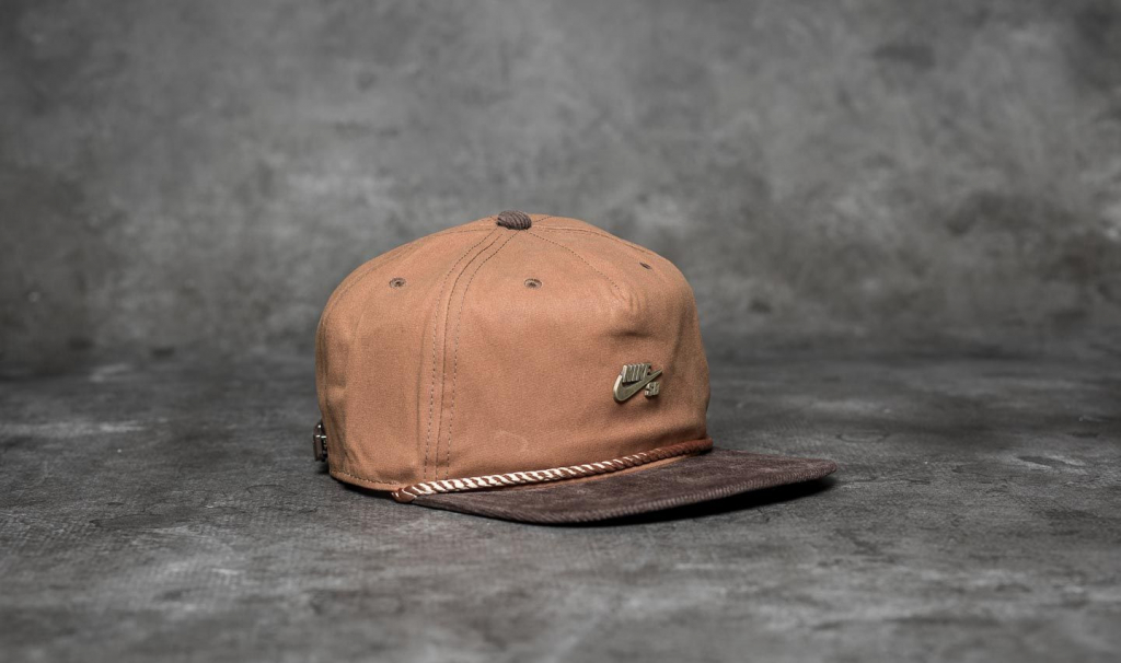 Nike SB Waxed Canvas Pro Cap Ale Brown  Baroque Brown  Anthracite od 474 Kč  - Heureka.cz ce67980c39