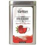 Tarlton Black Strawberry Černý sypaný čaj jahoda plech 80 g
