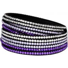 Troli náramek Wrap Multicolor 6x Violet