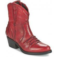 Dkode Kotníkové boty JACK červené