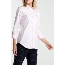 Gant dámská Košile GANT STRETCH OXFORD SOLID SHIRT růžová